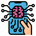 ai, application, artificial, intelligence icon