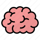 brain, human, idea, process icon