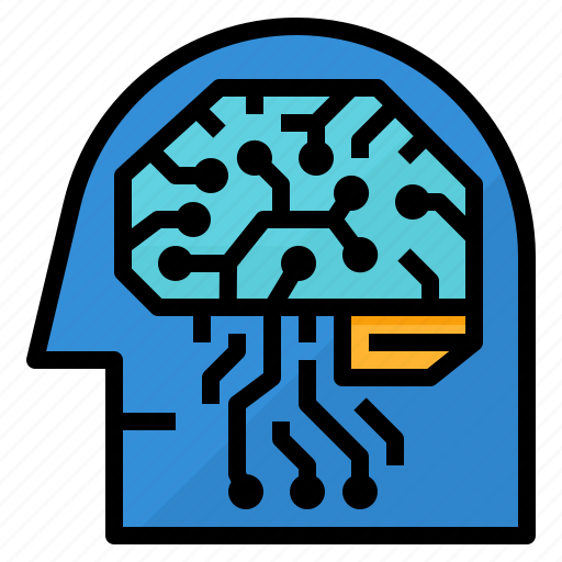 cognitive, computer, learning, simulations icon