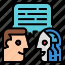 ai, language, natural, processing icon