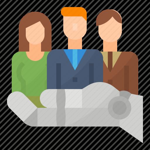 customer, management, relationship icon