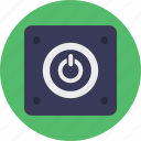 on off switch, power button, power controls, power symbol, standby symbol icon