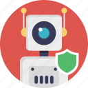 defense robot, military robot, security robot, service robot, surveillance robot icon