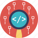 coding, html, programming, software development, web development icon