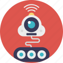 artificial intelligence, automation, future technology, industrial robot, robot technology icon