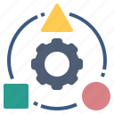 method, process, strategy, system, technique icon