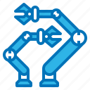ai, arms, artificial, intelligence, robot icon