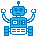 ai, artificial, intelligence, machine, robot icon