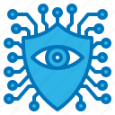 ai, artificial, intelligence, safety, security icon
