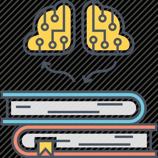 ai knowledge, ai research, artificial intelligence knowledge icon
