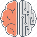 brain, brain simulation, intelligence icon