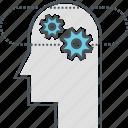 behavioral intelligence, cognition, cognitive, cognitive behavior icon