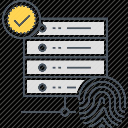 database, expert system, hosting icon