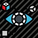 data, eye, robot, vision, statistic