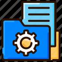 ai, data, file processing, file storage, folder icon