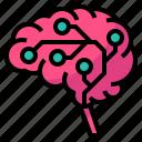 ai, artificial, brain, circuit, intelligence icon