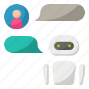 artificial, intelligence, ai, chatbot, message