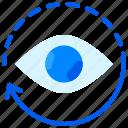 ai, artificial intelligence, monitoring, virtual reality, vision icon