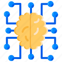 ai, artificial intelligence, connection, machine learning, neural networks icon