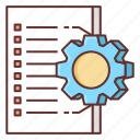 automated, planning icon
