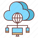 cloud, control, panel icon