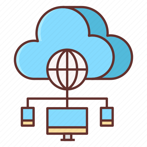 cloud, control, panel icon