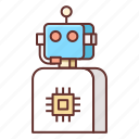 assistant, intelligent icon