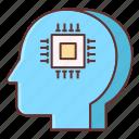 interface, neural icon
