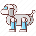 pet, robot icon