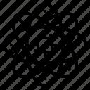 atom, chip, innovation, technology icon