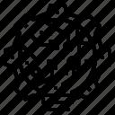 digital, gear, metal, operation icon