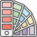 colors, design, painting, palette icon
