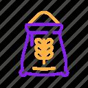 agriculture, bag, farm, farming, wheat icon