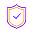 gdpr, protect, protection, safety, security, shield icon
