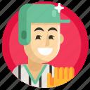 avatar, baseball, boy, man, sport icon