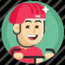 avatar, boy, cycling, man, sport icon