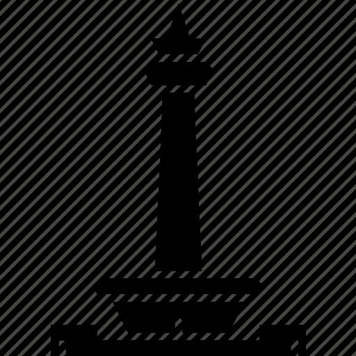 indonesia, jakarta, landmark, merdeka square, monument, national icon