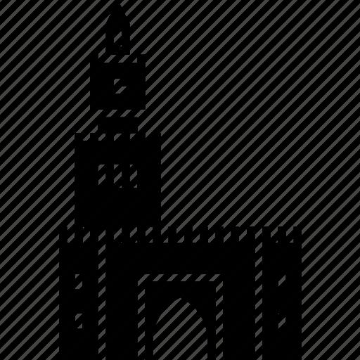 city, kuwait, landmark, palace, seif, watch tower icon