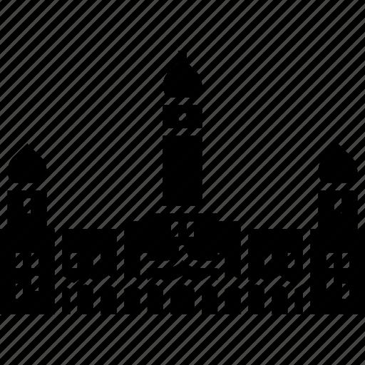 Building, kuala lumpur, landmark, malaysia, moorish, sultan abdul samad icon - Download on Iconfinder