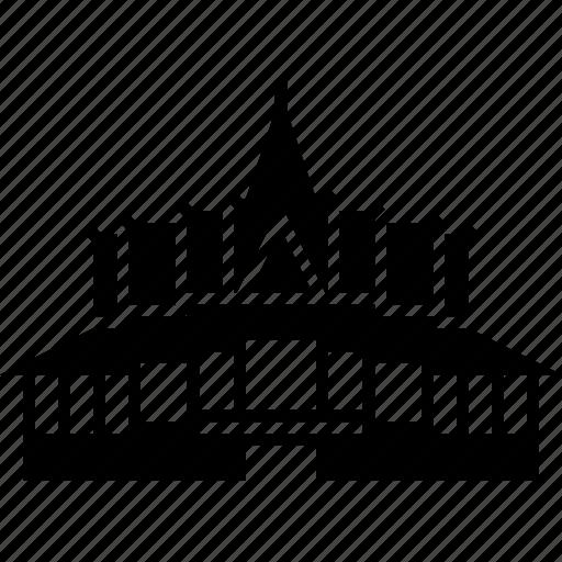 architecture, cambodia, landmark, palace, phnom penh, royal icon