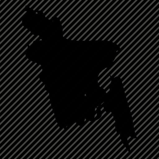 bangladesh, bangladesh icon, bangladesh map icon