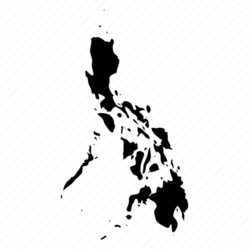 philippines, philippines map icon