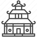 asian, home, house, japanese, property icon