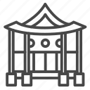 asian, home, house, korean, property icon
