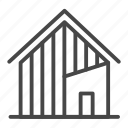 asian, home, house, modern, property icon