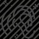 asmr, audio, feel good, listen, relax, sound, voice icon