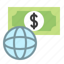 business, cash, currency, dollar, global, world