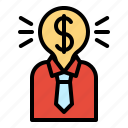 marketing, money, sponsor, investor, user, financial