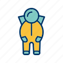 astronomy, space suit, spaceship icon