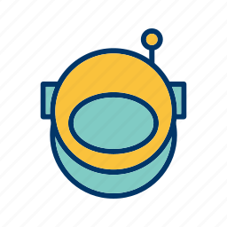 astronomy, space, space suit icon